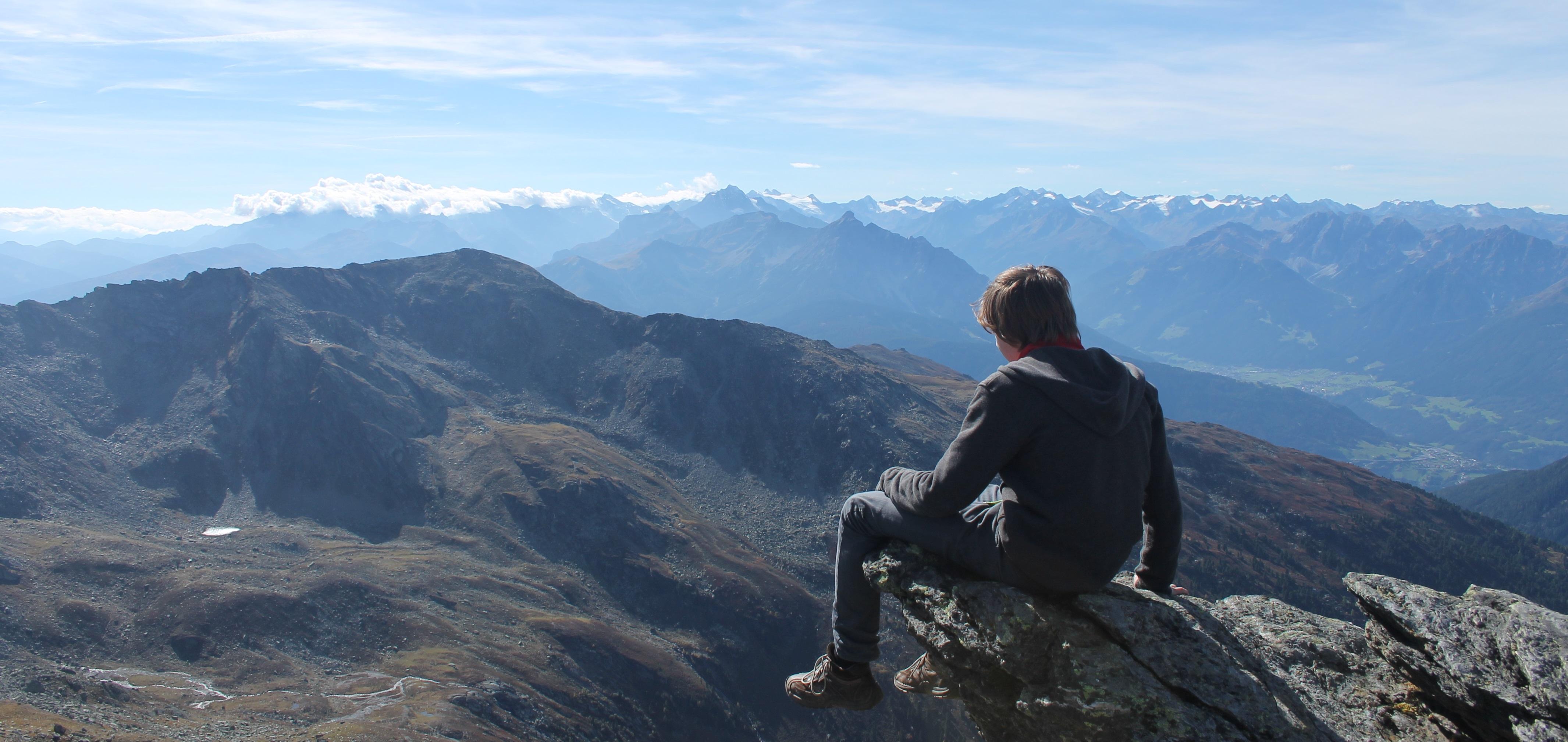 Tuxer Alpen in Tirol